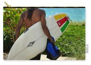 Dreadlocks Surfer Dude Carry-all Pouch