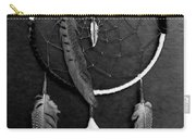 Dream Catcher Black White Carry-all Pouch