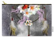 Dream Catcher Frangipani Carry-all Pouch