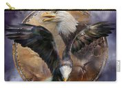 Dream Catcher - Spirit Eagle 3 Carry-all Pouch