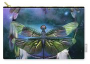 Dream Catcher - Spirit Of The Dragonfly Carry-all Pouch