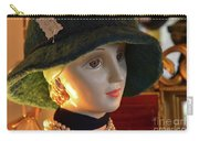 Dream Girl With Hat And Pearls Carry-all Pouch
