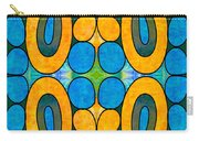 Dreaming In Circles Abstract Hard Candy Art By Omashte Carry-all Pouch