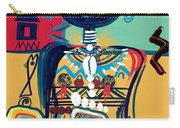 Dreaming Of Africa Carry-all Pouch by Oglafa Ebitari Perrin