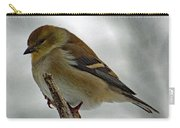 Dreaming Of Spring - American Goldfinch Carry-all Pouch