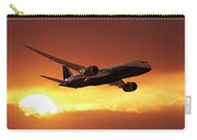 Dreamliner In The Sun Carry-all Pouch