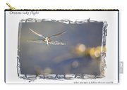 Dreams Take Flight Poster Or Card Carry-all Pouch