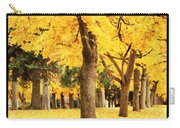 Dreamy Autumn Gold Carry-all Pouch