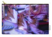 Dreamy Carrousel  Horses Carry-all Pouch
