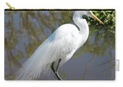 Dreamy Great Egret Carry-all Pouch