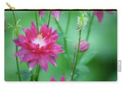 Dreamy Hot Pink Columbines Carry-all Pouch