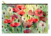 Dreamy Hot Summer Fields Carry-all Pouch