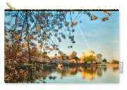 Dreamy Jefferson And Flowers Carry-all Pouch