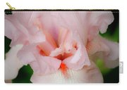 Dreamy Pink Iris Carry-all Pouch
