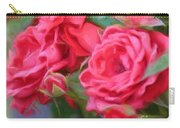 Dreamy Red Roses - Digital Art Carry-all Pouch