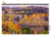 Dreamy Rocky Mountain Autumn View Carry-all Pouch