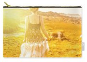 Dreamy Summer Fields Carry-all Pouch