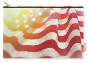 Dreamy Usa Flag 1 Carry-all Pouch