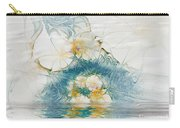 Dreamy World In Blue Carry-all Pouch