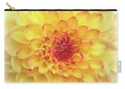 Dreamy Yellow Dahlia  Carry-all Pouch