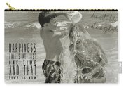 Drenched Quote Carry-all Pouch