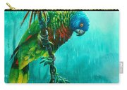 Drenched - St. Lucia Parrot Carry-all Pouch