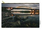 Dresden Waldschloesschenbridge Sunset Carry-all Pouch