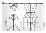 Dress Form Patent 1891  Carry-all Pouch