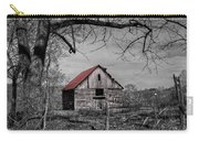 Dressed In Red Carry-all Pouch by Debra and Dave Vanderlaan