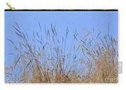 Dried Grass Blue Sky Carry-all Pouch