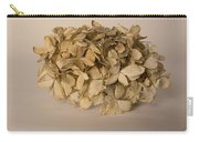 Dried Hydrangea Carry-all Pouch