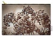 Dried Hydrangeas Carry-all Pouch