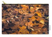 Dried Leaves Carry-all Pouch