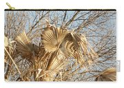 Dried Palm Fronds In The Wind Carry-all Pouch