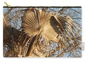 Dried Palm Fronds  Carry-all Pouch
