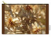 Dried Safflower Carry-all Pouch