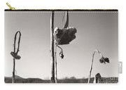 Dried Sunflower Closeup Carry-all Pouch