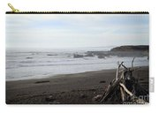 Driftwood And Moonstone Beach Carry-all Pouch