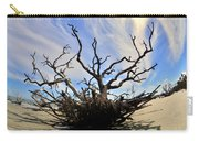 Driftwood And Roots Hunting Island Sc Carry-all Pouch by Lisa Wooten