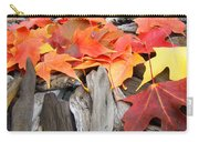 Driftwood Autumn Leaves Art Prints Baslee Troutman Carry-all Pouch