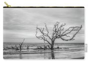 Still Standing In Black And White Carry-all Pouch