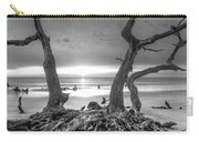 Driftwood Black And White Carry-all Pouch
