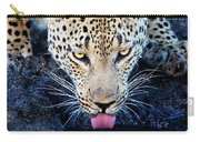 Drinking Leopard Carry-all Pouch
