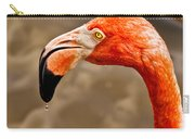 Dripping Flamingo Carry-all Pouch