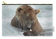 Dripping Grizzly Bear Carry-all Pouch