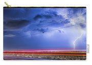 Drive By Lightning Strike Carry-all Pouch