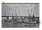 Drive By Tybee Island Shrimp Boat Art Carry-all Pouch