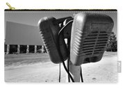 Drive In Speakers Carry-all Pouch by David Lee Thompson