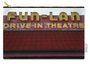 Drive Inn Theatre Carry-all Pouch by David Lee Thompson