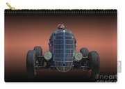 Driver And His Race Car Carry-all Pouch
